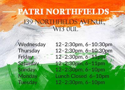 Our Reviews Patri indian Restaurant
