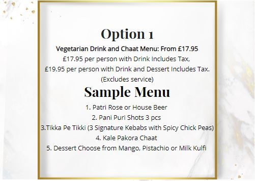 offers Patri indian Restaurant